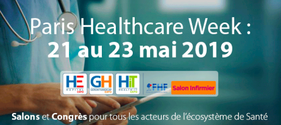 PARIS HEALTHCARE WEEK : DU 21 au 23 mai 2019.